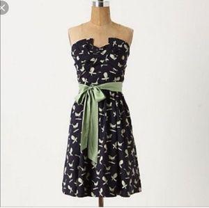Porridge Bird Print Dress